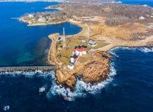 Eastern Point Lighthouse, Cape Ann, Massachusetts Stock Photography