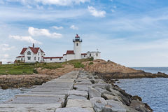 Eastern Point Lighthouse Compound Stock Photo