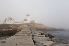 Eastern Point Lighthouse Royalty Free Stock Images