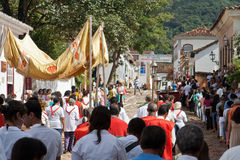 Eastern Procession Tiradentes Brazil Royalty Free Stock Image