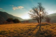 Eastern pyrenees landscape Stock Photography