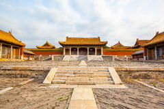 Eastern Qing Mausoleums- Cian Mausoleum scenery Royalty Free Stock Photography