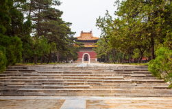 Eastern Qing Mausoleums- Cixi Mausoleum scenery Royalty Free Stock Photo
