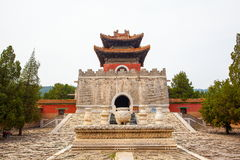 Eastern Qing Mausoleums- Cixi Mausoleum scenery Stock Images