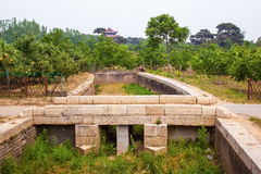 Eastern Qing Mausoleums-Fragrant concubine cemetery. Eastern Qing Mausoleums is one of the last dynasty Mausoleum area in China Royalty Free Stock Photo