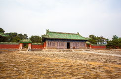 Eastern Qing Mausoleums-Fragrant concubine cemetery. Eastern Qing Mausoleums is one of the last dynasty Mausoleum area in China Stock Photos