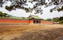 Eastern Qing Mausoleums-Fragrant concubine cemetery. Eastern Qing Mausoleums is one of the last dynasty Mausoleum area in China Royalty Free Stock Photos