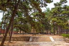Eastern Qing Mausoleums-Fragrant concubine cemetery. Eastern Qing Mausoleums is one of the last dynasty Mausoleum area in China Royalty Free Stock Images