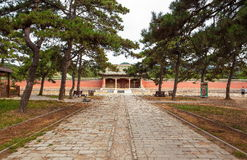 Eastern Qing Mausoleums-Fragrant concubine cemetery. Eastern Qing Mausoleums is one of the last dynasty Mausoleum area in China Royalty Free Stock Photography