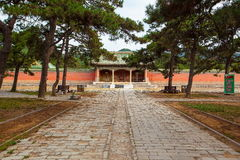 Eastern Qing Mausoleums-Fragrant concubine cemetery. Eastern Qing Mausoleums is one of the last dynasty Mausoleum area in China Stock Image