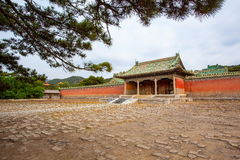 Eastern Qing Mausoleums-Fragrant concubine cemetery. Eastern Qing Mausoleums is one of the last dynasty Mausoleum area in China Stock Images