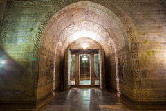 Eastern Qing Mausoleums scenery- Yu Mausoleum(Qian Long) underground palaceon Stock Photo