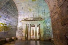 Eastern Qing Mausoleums scenery- Yu Mausoleum(Qian Long) underground palaceon Royalty Free Stock Photos