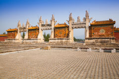Eastern Qing Tombs Dragon Gate Royalty Free Stock Images