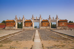 Eastern Qing Tombs Dragon Gate Royalty Free Stock Photo