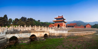 Eastern Qing Tombs Xiaoling Royalty Free Stock Photography