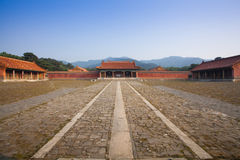 Eastern Qing Tombs Xiaoling Royalty Free Stock Photo