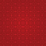 Eastern red fabric with ornament Stock Image