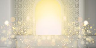 Abstract fruit background, pineappleEastern room, open window, sunlight and magic beams. 3D rendering. Eastern room, open window, sunlight and magic beams. 3D stock illustration