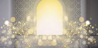 Abstract fruit background, pineappleEastern room, open window, sunlight and magic beams. 3D rendering. Eastern room, open window, sunlight and magic beams. 3D vector illustration