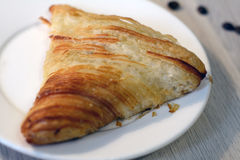 Eastern samsa on the plate Stock Photos
