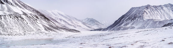 Eastern Sayan mountains. Altai. Panorama royalty free stock photography