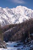 Eastern Sayan mountains. Altai. Siberia. Russia stock image