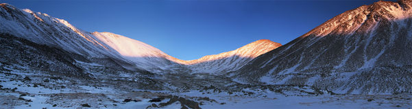 Eastern Sayan mountains. Altai. Stock Image