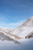 Eastern Sayan mountains. Altai. Royalty Free Stock Image