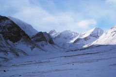 Eastern Sayan mountains. Altai. Royalty Free Stock Images