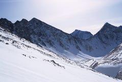 Eastern Sayan mountains. Altai. Royalty Free Stock Photos