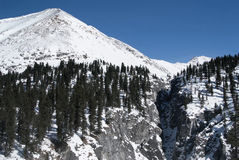 Eastern Sayan mountains. Altai. Royalty Free Stock Image