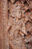 Eastern sculpture / figurine / statue Royalty Free Stock Images