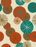 Eastern seamless background. Seamless pattern in trendy colour palette Royalty Free Stock Photography