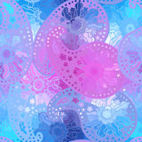 Eastern seamless background with decorative ornament. Royalty Free Stock Photography