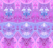 Eastern seamless background with decorative ornament. Royalty Free Stock Photo