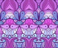 Eastern seamless background with decorative ornament. Vector illustration Royalty Free Stock Images