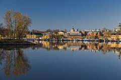 Eastern shore of Skeppsholmen Stock Images