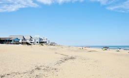 Eastern shore virginia beach oceanfront area Royalty Free Stock Photos