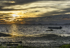 Eastern Shore of Virginia. Early morning photo of the Eastern shoreline of Virginia Stock Photo