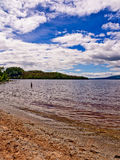 Eastern shores loch lomoind Royalty Free Stock Photos