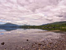 Eastern shores loch lomoind Stock Image