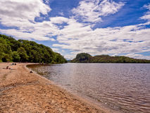 Eastern shores loch lomoind Royalty Free Stock Images