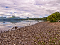 Eastern shores loch lomoind Royalty Free Stock Image