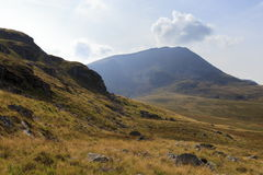 Eastern side of Cadair Idris Stock Image