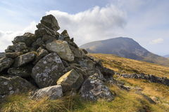 Eastern side of Cadair Idris Royalty Free Stock Photography