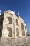 The eastern side of the Taj Mahal. Stock Images