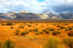 Eastern Sierra mountains Stock Photo