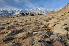 Eastern Sierra Nevada Mountains Royalty Free Stock Photography