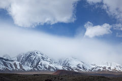 Eastern Sierra Nevada Mountains Royalty Free Stock Image